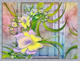 Orchids From Our Garden by lady-AquaLena