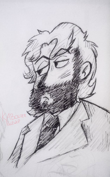 Beardy Macca by KabouterPollewop