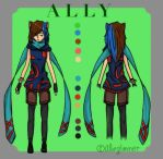 Ally's new design by allieglimmer