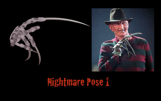 Nightmare (pose one) by Noiporcs