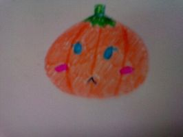 Cute little pumpkin by AKUMASCRBL