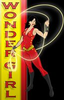 "WONDER GIRL ""DC Y.B. Series"" by Thuddleston"