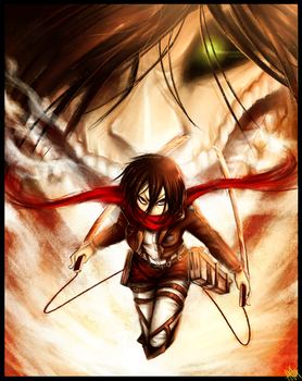 ($20) I'll Never Leave you: Attack on Titan by WalkingMelonsAAA