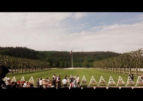 Epinal american cemetery and memorial service by californian-sunshine