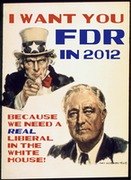 I Want You. . .FDR by poasterchild