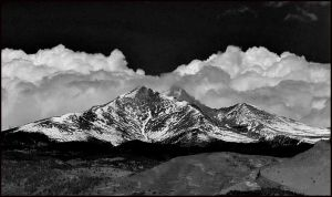 Mount Meeker by lidarman