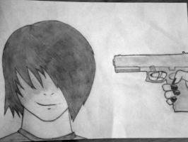 You've Got Your Gun 2 My Head by cristina-uchiha