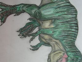 Jurassic Park T-Rex Colored by drgknot