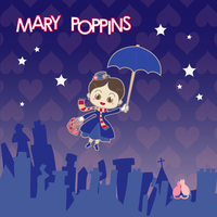 Mary Poppins by mllemlesucre