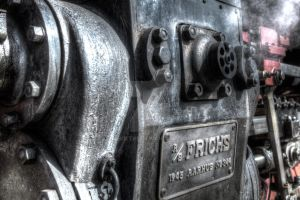 Steamtrain detail by abuethe
