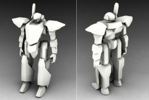 BK-05P Black Knight Prototype by Wolf-in-Exile