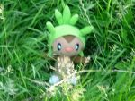 A Wild Chespin appeared! by PRTArtist