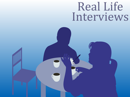Real Life Interviews - Poster by JRHill