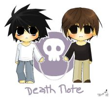 Death Note- frienemies? by alice-top