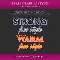 FREE Colorful Graphic Styles for Design #5 by Love-Kay