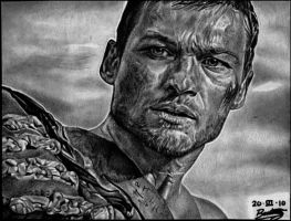 Andy Whitfield -SPARTACUS- by ladarkfemme