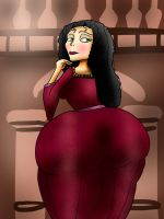 Mother Gothel Big Booty by ButLova