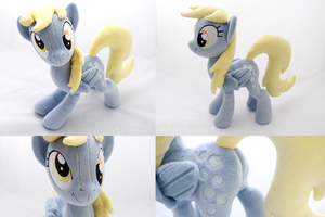 Scrunchy Face Derpy by PlanetPlush