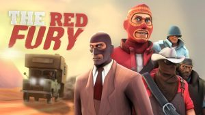 The Red Fury - Wallpaper by MaGGoT4th