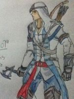 Connor assassins creed 3 by jt0002