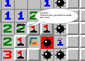 ReBoot Minesweeper by datasprite12