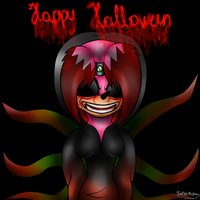 Kathy: Happy Halloween by Kathy-the-echidna