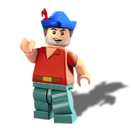 Lego King Graham by Irishmile