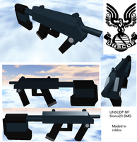 Roblox: M7 SMG by radar651