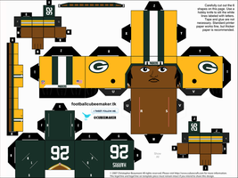 DuJuan Harris Packers Cubee by etchings13