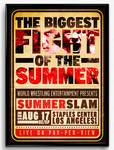 WWE Summerslam 2014 Poster by RicGrayDesign