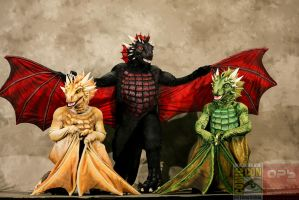 SDCC 2014 Masquerade - Dance With Dragons by temperance