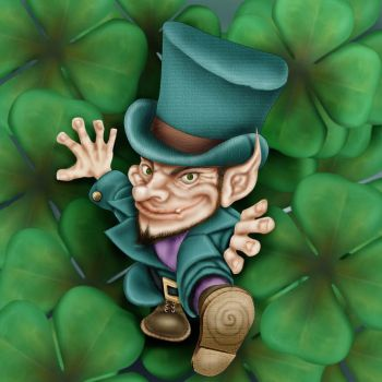 Irish leprechaun by joelalejandro4