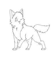 .: FREE Canine Lineart :. by Mutt-Adopts