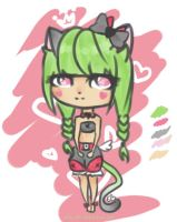 Quicky Neko adopt [CLOSED] by Naia-Chii