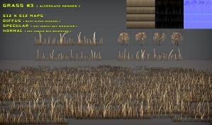 Free Grass Pack 3 Alt. Meshes by Nobiax