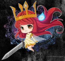 :Child Of Light: Chibi Aurora by PrinceOfRedroses