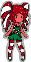 CandyCane Princess Adoptable by Queen-Of-Cute