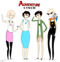 adventurestuck 2 by stickyfruit