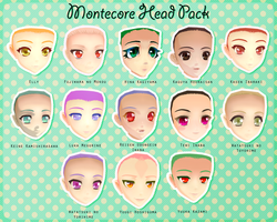 Montecore Head Pack DL by Xoriu