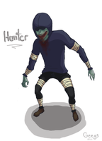 L4D Hunter by Geegs