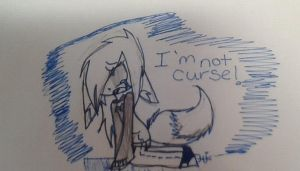 I'm Not a curse!! by SoftenedSongs