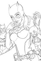 Surprise, Batsy!! Process by 13wishes