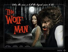 The Wolfman 2010 poster by smalltownhero