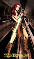 JEDI GIRL 2 by sonrayaz