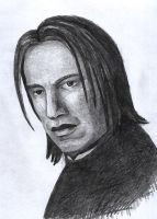 Severus Snape by Psee