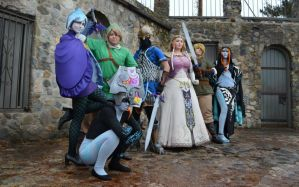 Group Legend of Zelda Shot 2 by sugarpoultry