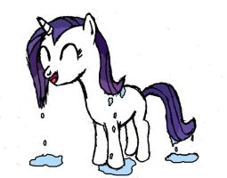 Wet Mane Filly Rarity by DoctorSpectrum