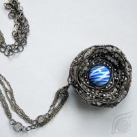 Core of comet (necklace) by NADYjewel