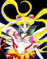 Eternal Sailor Moon by CraftacularCourtney