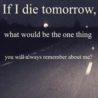 If I Died by Kittinpaws